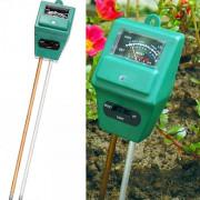Прибор для определения кислотности, влажности почвы 3 в 1